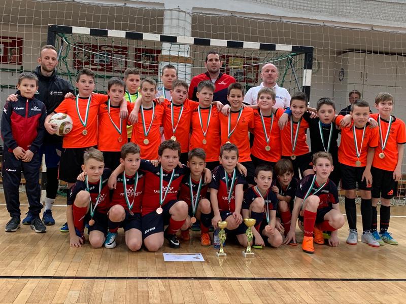 Arany és bronz az U11 futsal döntőben