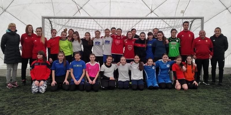 Nagysikerű UEFA lányfoci rendezvény a VFC USE pályán!