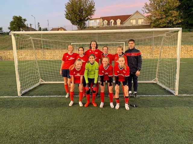 Szenzációsan kezdte a szezont U14-es lány csapatunk