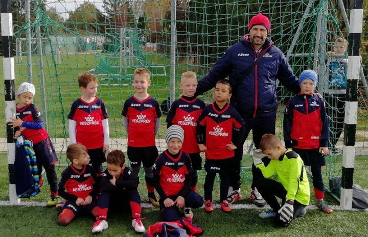 U8-as csapatunk Zalaegerszegen lépett pályára a közelmúltban.