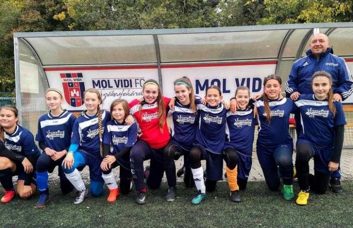 U14-es lányaink is remekül helytálltak az országos bajnokságban.