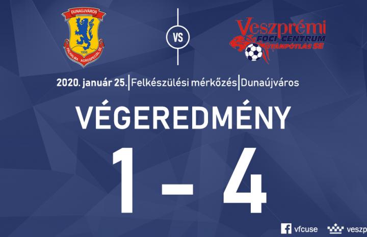 Dunaújvárosban nyert az U19