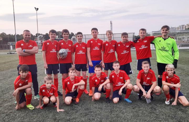 """Ismét győzött az U14 """"D"""" jelű csapat a megyei bajnokságban"""