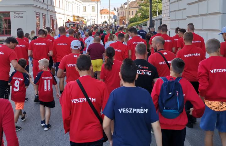Séta a Csolnoky Ferenc Kórháznak szánt adomány növeléséért