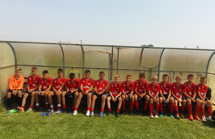 Rangadóval kezdett az U15-ös csapat