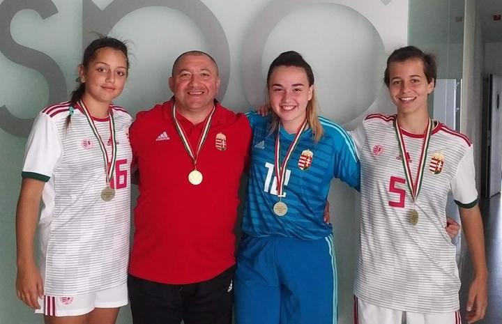 Veszprémi lányokkal nyerte meg az U14 Régióválogatottak Tornáját a Nyugat-magyar csapat