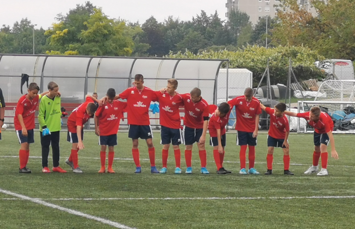 Edzőmérkőzést játszott egymással az U11-es és az U12-es csapatunk