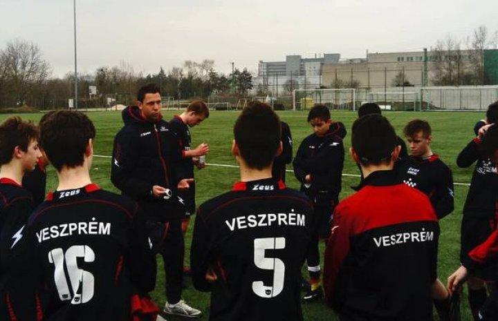 Zalaegerszegen járt az U16 csapata