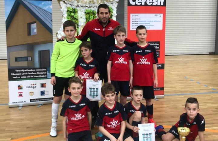 Szombathelyen, Ceresit Cup-on járt a 2009-és csapatunk!