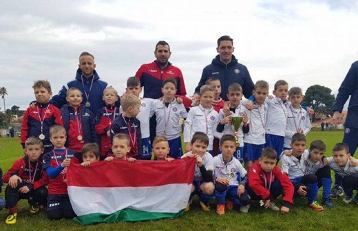 Horvátországban járt az U8-as csapatunk!